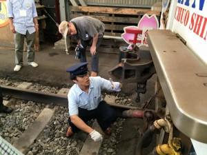 明知鉄道体験運転17