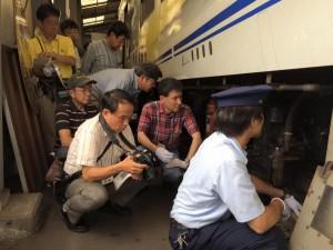 明知鉄道体験運転15