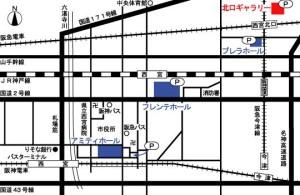 北口ギャラリー地図